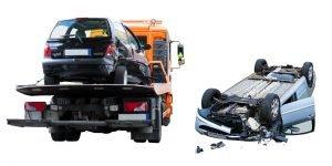 ¿Que es un accidente de transito? Estos carros accidentados son un ejemplo de ello